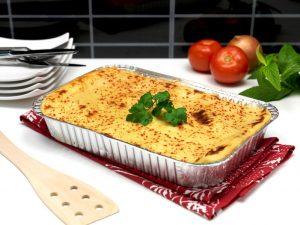 Ravioli pollo con salsa pomodoro