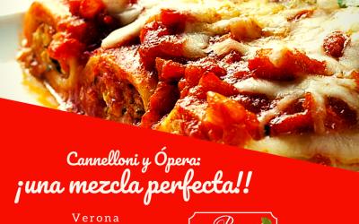 Cannelloni y Ópera